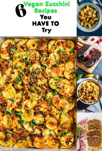 BEST Vegan Zucchini Recipes