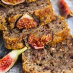 Banana Fig Bread Recipe with Fresh Figs