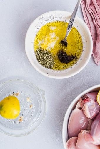 lemon sauce recipe for chicken thighs