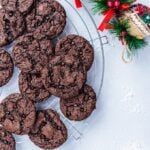 Easy Chocolate Cake Mix Cookies