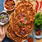Homemade Turkish Lahmacun