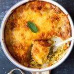 Baked Cheesy Zucchini Casserole