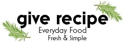 Give Recipe logo