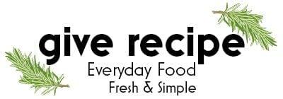 Give Recipe logo